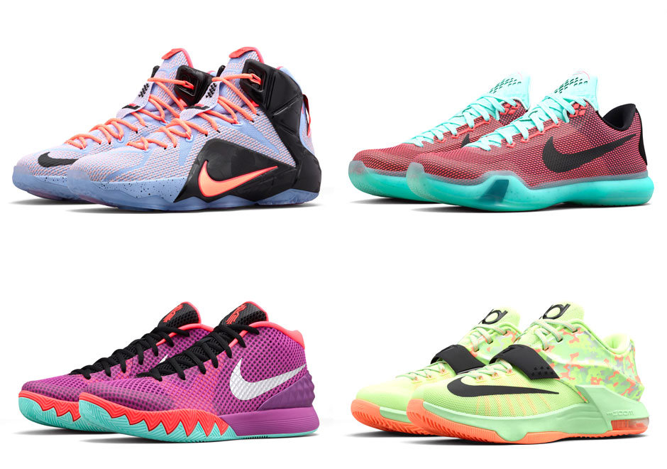 3a6b7cd40b32e Easter 2015 Nike Basketball Shoes | SneakerNews.com