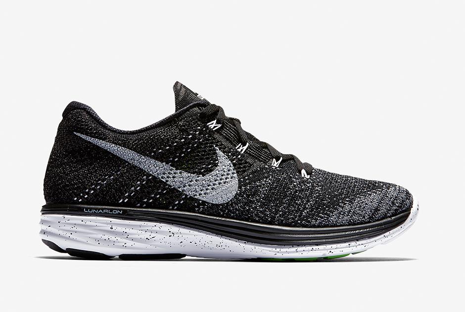 Nike Flyknit Lunar Negro 3 / Medianoche Niebla / Lobo Gris / Blanco Boston NcR9j