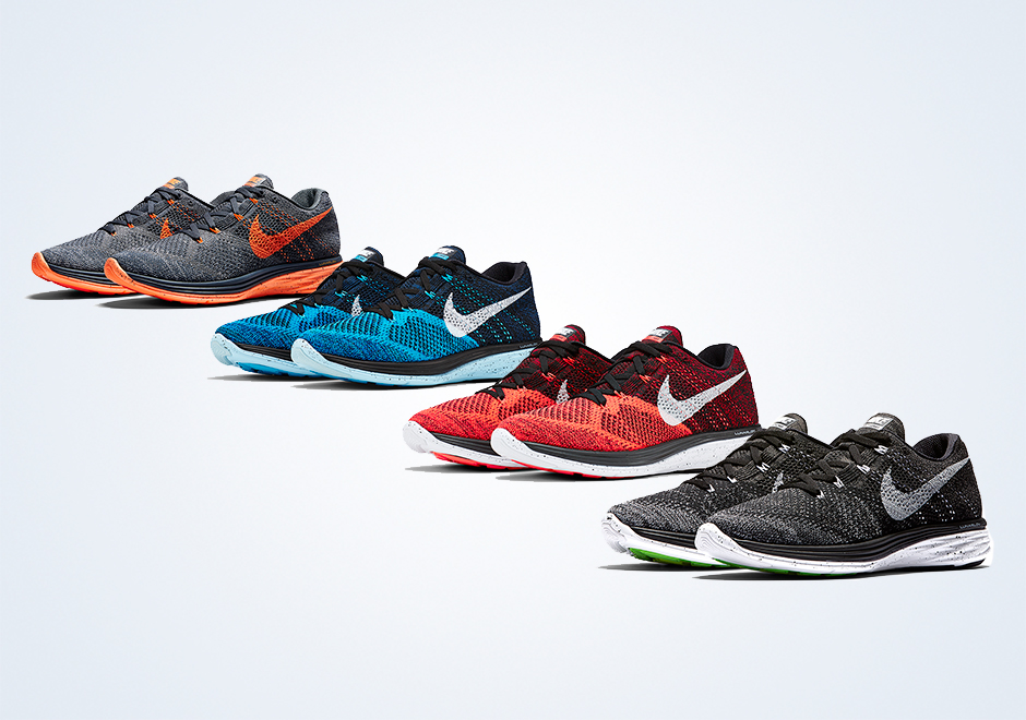 premium selection e1033 26c68 Nike Flyknit Lunar 3 - March 2015 Releases - SneakerNews.com