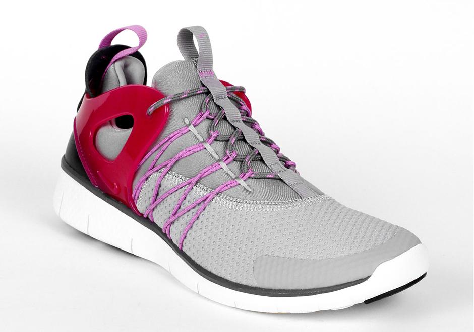 Nike Gris Vertueux Libres Formateurs Rose Pour Les Filles