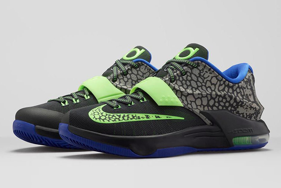 buy online f3a31 6e9d7 KD 7 Electric Eel - Price & Release Info | SneakerNews.com