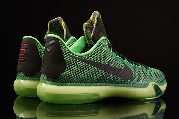 newest 88779 ac8ef ... release date nike kobe 10 gs vino color poison green sequoia sequoia  volt style code 726067