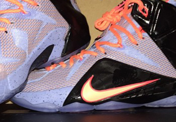 "innovative design 251ed f6b5b A First Look at the Nike LeBron 12 ""Easter"""