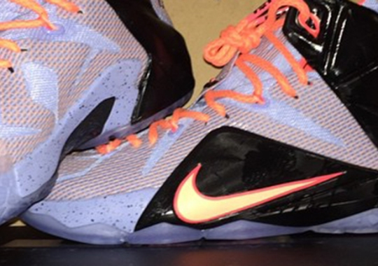 """A First Look at the Nike LeBron 12 """"Easter"""""""