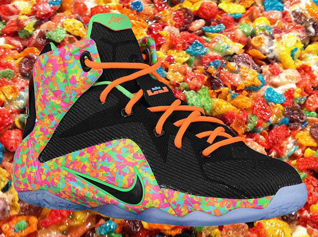 dbbf211ff02 Nike Postpones Release of Fruity Pebbles LeBron 12 - SneakerNews.com