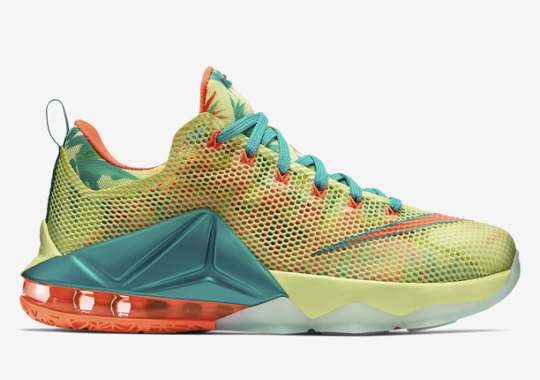 "Nike LeBron 12 Low ""LeBronold Palmer"" Available at Foot Locker"
