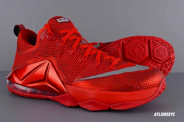 reputable site 0a408 656bb Nike LeBron 12 Low Color  University Red Reflective Silver-Gym Red-Black  Style Code  724557-616. Release Date  TBD Price   175