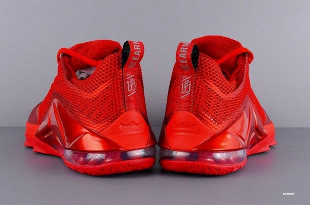 san francisco f3cef bd355 Nike LeBron 12 Low - University Red - Reflect Silver - Gym Red ...