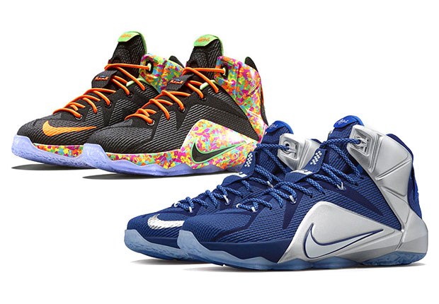 Cowboys and Cereal  Two New Nike LeBron 12 Releases Drop Tomorrow ... 3f0392dee0