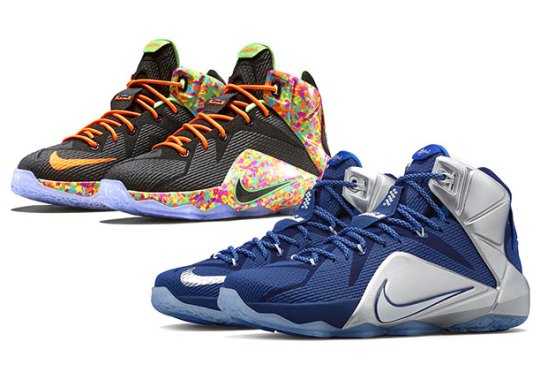 Cowboys and Cereal: Two New Nike LeBron 12 Releases Drop Tomorrow