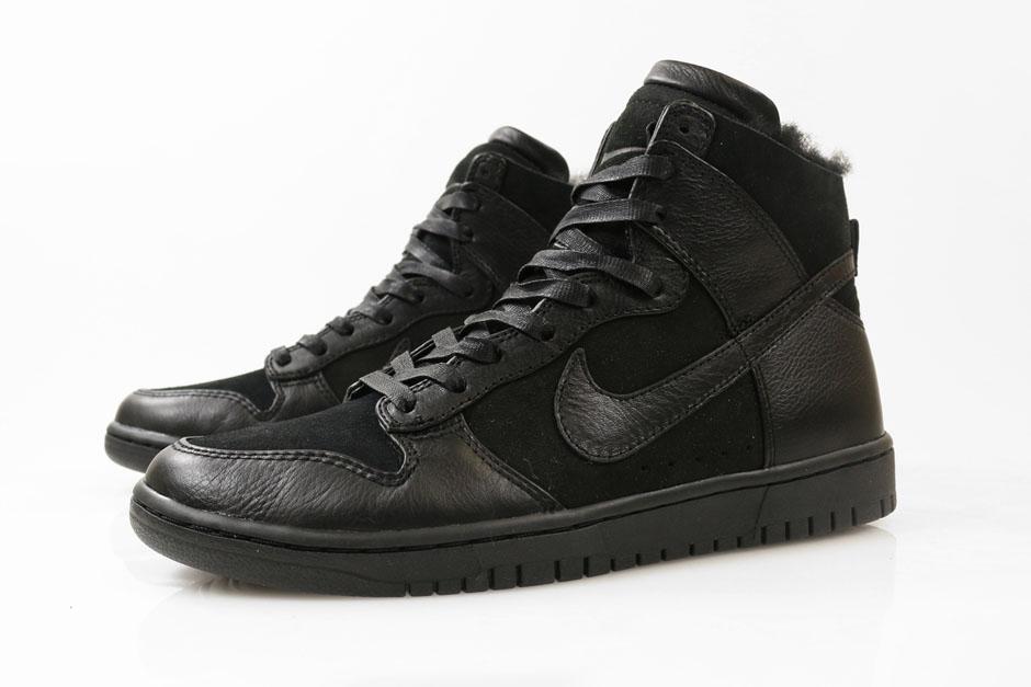 "Nike Lunar Dunk HIgh ""Sherpa"" Pack - SneakerNews.com"