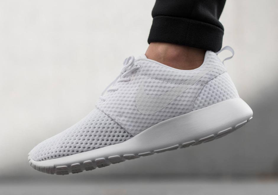7d342988433d ... purchase this nike roshe run in white mesh might be the perfect summer  sneaker sneakernews 56a5f