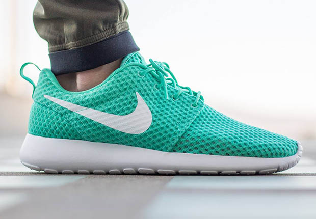 Nike Roshe Courir Damen Calypso Blanc Mal