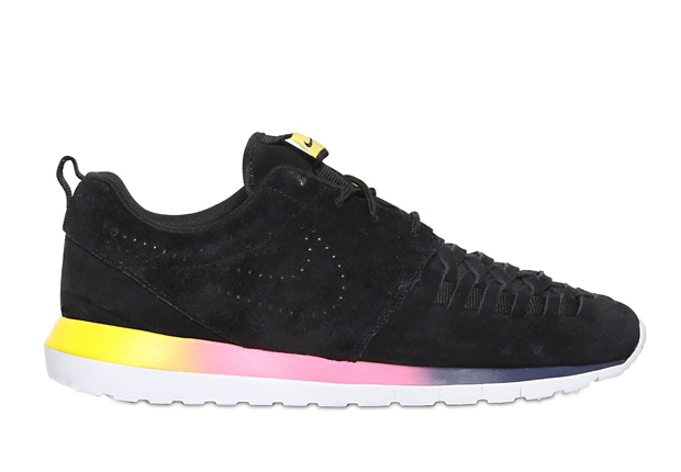 nike roshe run nm woven rainbow sole puma