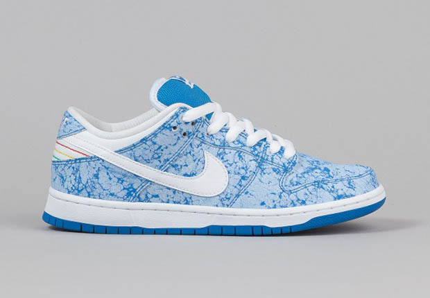 "online store fe180 92849 Nike SB Dunk Low Pro ""Blue Marble"""