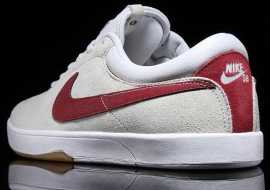 Nike SB Eric Koston – Pure Platinum – White – Team Red
