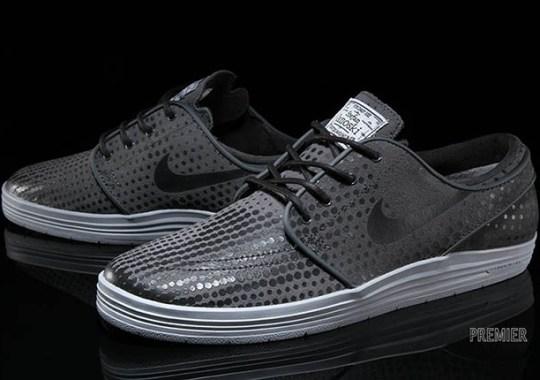"Nike SB Lunar Stefan Janoski ""Dot Fade"" – Anthracite – Wolf Grey"