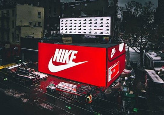Nike's Giant SNKRS Air Max Box Coming To Los Angeles