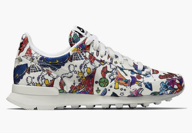 The Nike Internationalist gets trippy for this latest edition just for the  ladies, outfitted in a psychedelic, 1960s inspired graphic print.