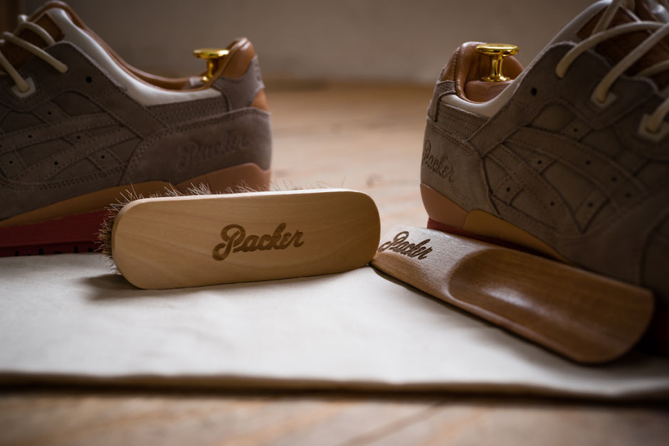 Gel De Chaussures De Packer X Asics Tigre Lyte Iii Abaisseur Sale OByvST