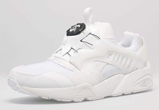 The Puma Disc Blaze Joins the White Sneaker Party