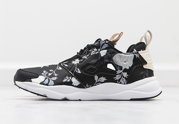 """new concept 87684 4b447 Look over each colorway, and then find the Reebok Women s Furylite """"Floral  Pack"""" at select Reebok Classic retailers like Wish ATL."""