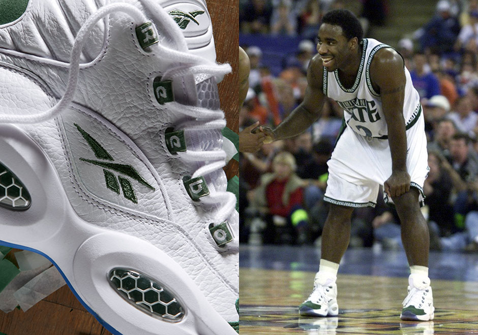 """Reebok To Release A Nostalgic """"Michigan State"""" Colorway of the Question beb2d503d"""