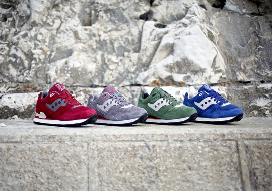 Saucony Originals Courageous – March 2015 Releases