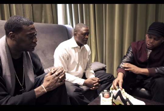 Shawn Kemp, Dominique Wilkins, and Sway Discuss The Reebok Pump Kamikaze II