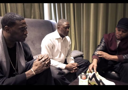 Shawn Kemp, Dominique Wilkins, and Sway Discuss The Reebok Pump Kamikaze II