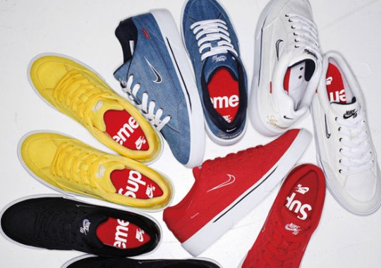 Another Supreme x Nike Collaboration Is Coming Soon