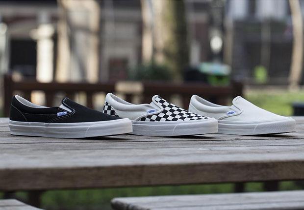 e00fdc4310 Vans Brings Back Their Original Slip-Ons - SneakerNews.com