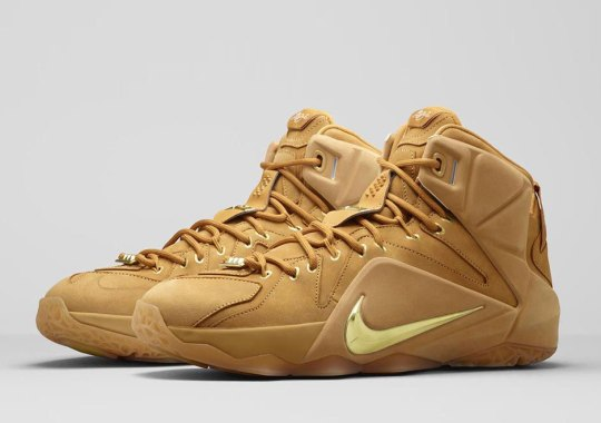 "The Nike LeBron 12 EXT Inspired By the Air Zoom Generation ""Wheat"""