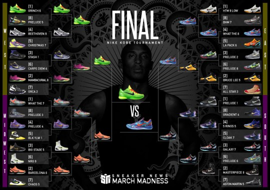 """Grinch"" vs. ""What The""? The Nike Kobe March Madness Final Is Here"
