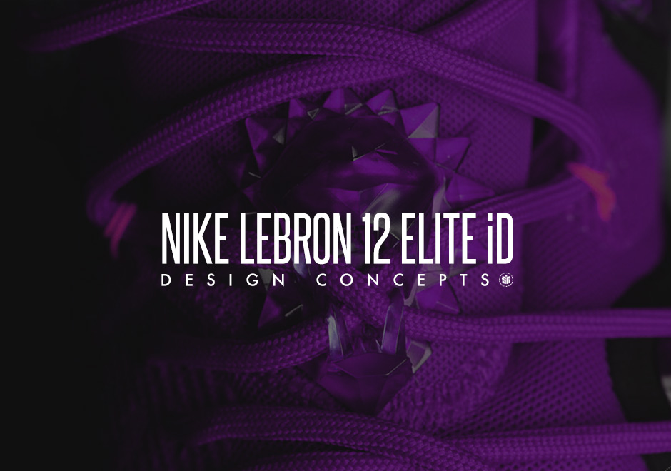 "free shipping f3ce2 5607b ""Finals"", ""X-Box"", and more Nike LeBron 12 Elite iD Concepts"