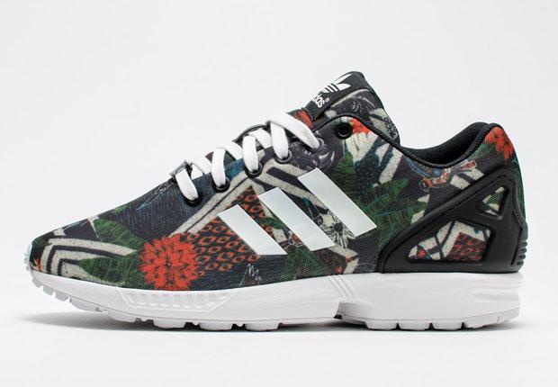 adida zx flux leopardo