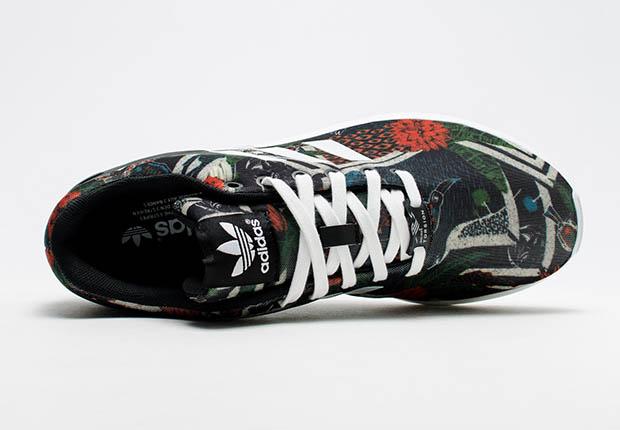 Adidas Zx Flusso Di Stampa Floreale Delle Donne AsOAPemM5i