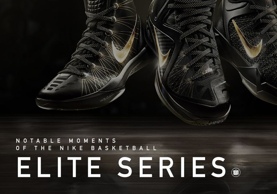 new arrivals b35b6 80412 Notable Moments in Nike Basketball s Elite Series