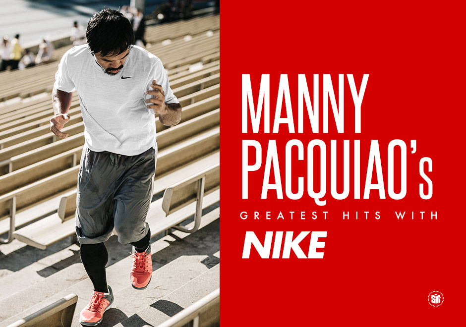 aa762d8647e83 Manny Pacquiao s Greatest Hits With Nike - SneakerNews.com