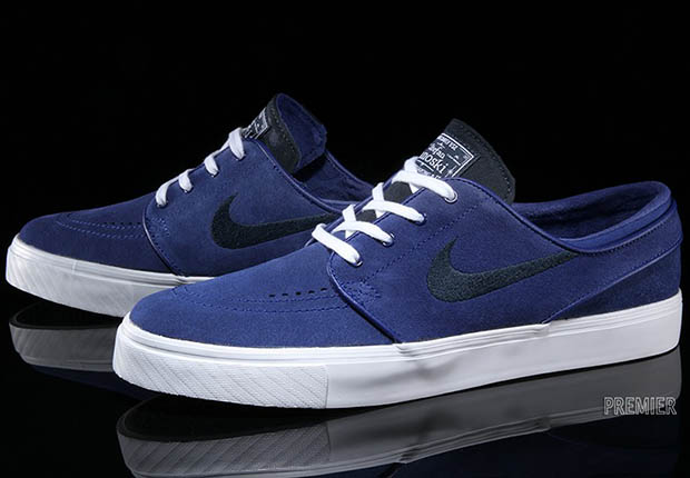 160d76e2b6da ... yet another version to add to your collection in a clean two-tone blue  blend. Find them arriving now at select Nike SB stocked skate shops like  Premier.