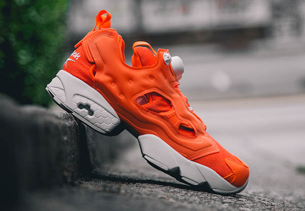 fd104fd01100 The futuristic Reebok Instapump Fury continues to remain relevant in the  current retro running landscape