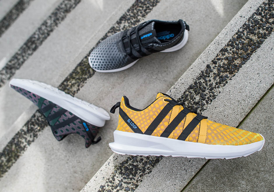 info for 0576e 89fee adidas Originals Introduces Color-Shifting Chromatech on the SL Loop Racer