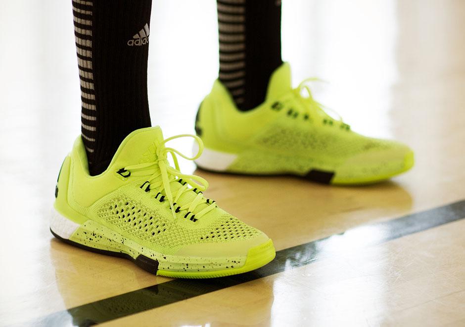 Adidas Crazylight Impulsar Primeknit 2015 Bajo Solar Amarillo f7EgFg
