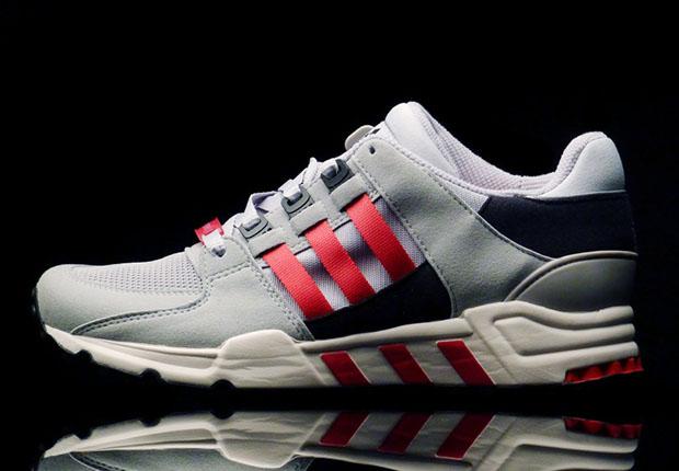 Adidas Eqt Grey Red