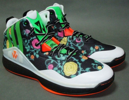 """Another """"Floral"""" Colorway of the adidas J Wall 1"""