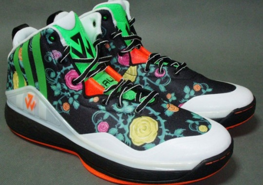 "Another ""Floral"" Colorway of the adidas J Wall 1"