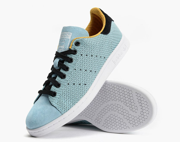 a4ae8a95eb08 adidas Presents A Jacquard-Style Print On The Stan Smith ...