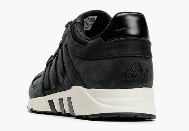 well-wreapped adidas EQT Running Guidance 93 Black White ... cbece3056cbd