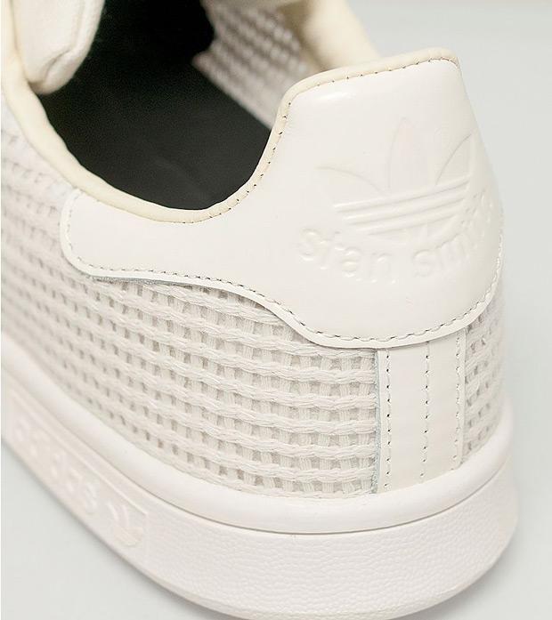 adidas stan smith woven beige