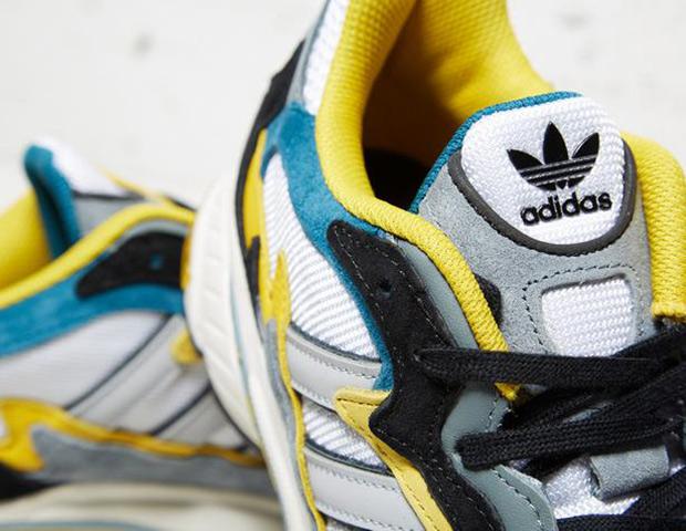 ed98c5d7e5d5 adidas Originals Temper Run - Teal - Yellow - SneakerNews.com